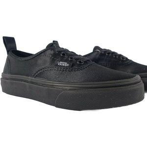 VANS Authentic Elastic Satin Lace (Black) Boutique